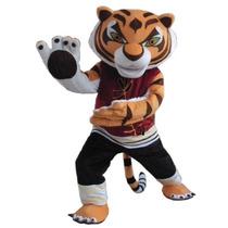 Botarga Disfraz Traje Tamaño Adulto Tiger Kung Fu Panda Hm4