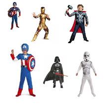 Disfraz Capitan America Ironman Thor Tortugas Ninja Starwars