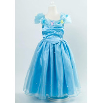 Disfraz Vestido Cenicienta Disney 2015 Niña Claro