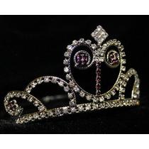Coronas De Pedreria Fina Princesa Sofia Con Piedras Moradas