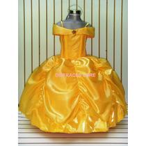 Disfraz Vestido Princesa Bella Cenicienta Sofia Rapunzel