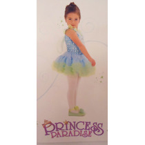 Hermoso Vestido Princesa Hada Azul Nina 18 Meses A 2 Anos
