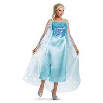 Disfraz Elsa Adulto Mujer Disney Frozen + Regalo
