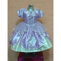 Vestido Disfraz De Princesita Sofia