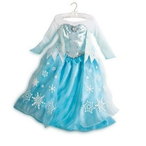 Disfraz Reina Elsa P/ Fiesta Frozen Original Disney Store