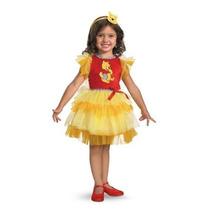 Disfraz Vestido De Winnie De Pooh Oso Niña Talla (3/4 Años)