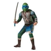 Difraz Tortuga Ninja Leonardo Nickelodeon Fiestas