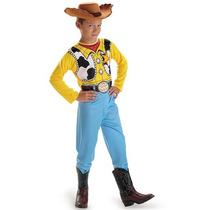 Disfraz Niño Disney Toy Story Woody Vaquero Talla 7/8 Años