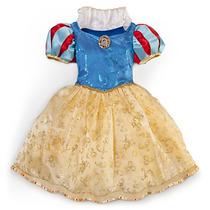Hermoso Vestido Disfraz Blanca Nieves Original Disney Mmu