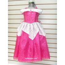 Disfraz Bella Durmiente-aurora Vestidos Princesa Cenicienta