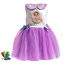 Disfraz Vestido Tutu Princesita Sofia Original Disney Store