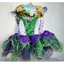 Disfraz Campanita Tinkerbell Original Para Niñas 2-3 Años