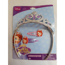 Accesorio Oficial De Princesa Sofia Corona Broches! Disney