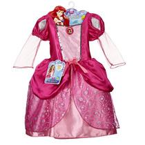 Bola Vestido De Princesa De Disney Ariel Pink Bling