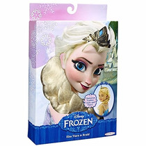 Peluca Y Tiara Elsa Frozen Disney Trenza Princesas