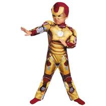 Disfraz Iron Man 3 Original Talla 3/4 Y 4/6 Años Importado