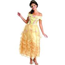 Disfraz Bella De Lujo Vestido Mujer Adulto Talla M (8/10)