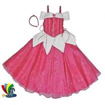 Disfraz Vestido Aurora Bella Durmiente Modelo Disney