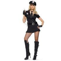 Disfraz De Policia Para Damas, Envio Gratis