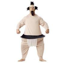 Disfraz De Luchador De Sumo, Oriental, Japon Para Adultos