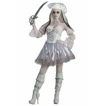 Disfraz De Pirata Fantasma Para Damas, Envio Gratis