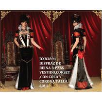 Disfraz Reina De Corazones Deluxe Leg Avenue Omm