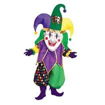 Disfraz De Mardi Gras, Arlequin Para Adultos, Envio Gratis
