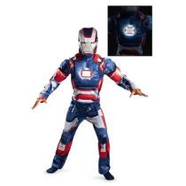 Disfraz De Iron Man Con Luz Para Niños, Envio Gratis
