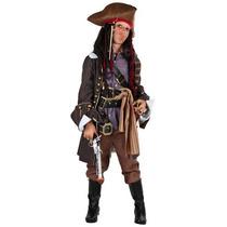 Disfraz De Lujo De Pirata Para Niños, Envio Gratis