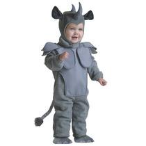 Disfraz De Rinoceronte Para Niños Y Bebes, Envio Gratis