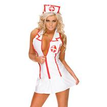 Sexy Disfraz Enfermera, Doctora, Mujer, Dama, Halloween