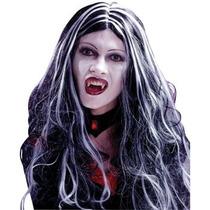 Oferta Unica!!! Peluca De Bruja, Vampiresa Para Damas