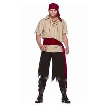 Oferta Unica!!! Disfraz De Pirata Para Adultos Medium/large