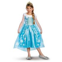 Disfraz Elsa Frozen Disney Vestido Princesa Anna