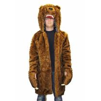 Disfraz / Abrigo / Chamarra De Oso Workoholics Para Adultos