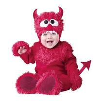 Disfraz Bebe Diablito Niño Niña Halloween Diablo