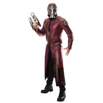Disfraz Star Lord Guardianes De La Galaxia Traje Mascara