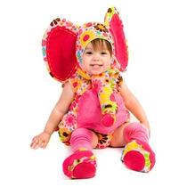 Disfraz Bebe Elefante Rosa Niña Halloween