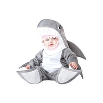 Disfraz Bebe Tiburon Niño Niña Halloween