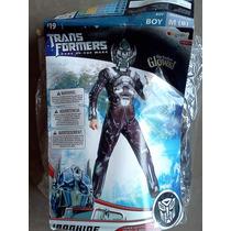 Disfraz Iron Hide Transformers Para Niño Halloween Gondorian