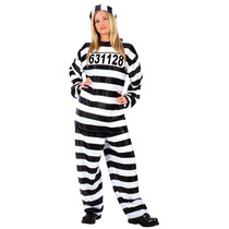 Disfraz De Prisionera, Carcel, Encarcelada Para Damas