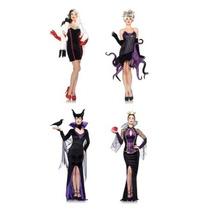 Disfraz Mujer Villanas De Disney Malefica Ursula Adulto Sexy