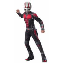 Disfraz Niños Súper Héroe Hombre Hormiga Pelicula Ant-man