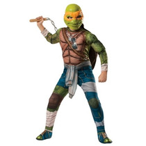 Disfraz Tortugas Ninja Niño Michelangelo Miguel Angel