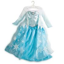 Disfraz Frozen Elsa Disney Original Princesa Niña Vestido