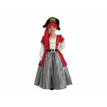 Disfraz Infantil De Niña Pirata