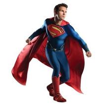 Disfraz De Lujo De Superman Para Adultos, Envio Gratis