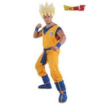 Disfraz De Dragon Ball Z, Goku Para Adultos, Envio Gratis