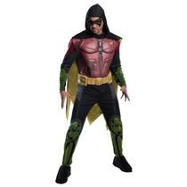 Disfraz De Robin Arkham, Batman Para Adultos, Envio Gratis