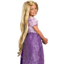 Peluca Rapunzel Para Niñas, Enredados, Tangled, Envio Gratis